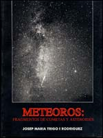 Book Cover: Meteors. Fragments of Comets and Asteroids